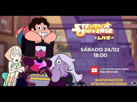 LIVE  Steven Universo com Erick Mafra  #TeAmoUniverso