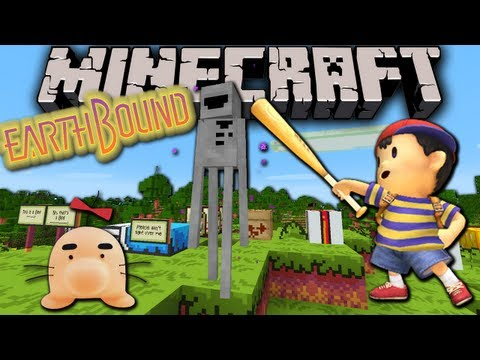 Custom (musician) - With the recent re-release of EarthBound on the WiiU's Virtual Console, I wanted to celebrate by starting an appropriately themed Resource Pack for the Minec...