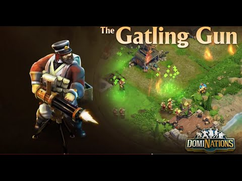 DomiNations - ALL GATLING RAID