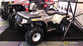 10. 2016 HiSun Force 110 Recreational ATV - Walkaround - 2015 AIMExpo Orlando