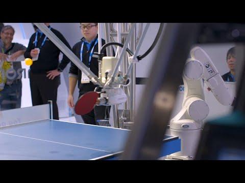 Pingisrobotti vastaan ihminen – Kumpi voittaa