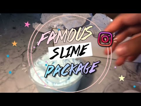FAMOUS SLIME SHOP REVIEW!  💦 BEST SLIME! (MUST WATCH) (видео)