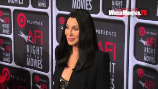 Cher Arrives At Target Presents 'AFI Night At The Movies' Red Carpet