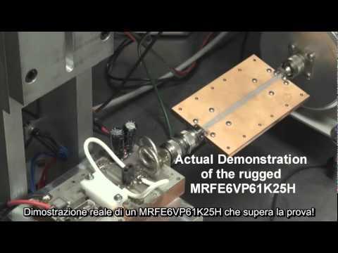 Transistor Power Rf Mosfet di Freescale che supera la prova di corto circuito