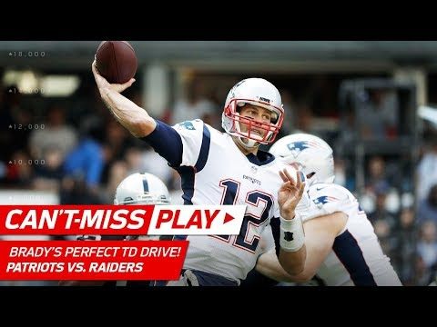 Video: Tom Brady Goes 9 for 9 on Opening TD Drive vs. Oakland! | Can't-Miss Play | NFL Wk 11 Highlights