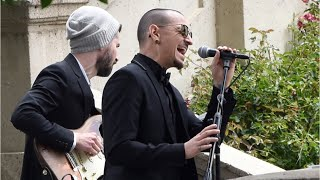 "Following the death of his friend Chris Cornell died two months ago, Linkin Park singer Chester Bennington wrote a letter thanking him for inspiring him. He wrote he hoped Cornell would find peace in ""the next life.""Bennington died Thursday. It was Cornell's birthday. Authorities are treating Bennington's death as an apparent suicide.In his letter in May, Bennington expressed his appreciation to the former Soundgarden and Audioslave frontman for including him in personal moments ""with you and your beautiful family.""http://www.cnn.com/2017/07/20/celebrities/chris-cornell-chester-bennington-friendship/index.htmlhttp://www.wochit.comThis video was produced by YT Wochit Entertainment using http://wochit.com"