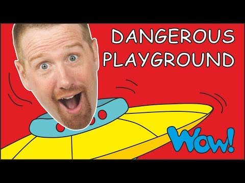 Dangerous Playground Story For Kids With Steve And Maggie And Bobby | Free Speaking Wow English TV