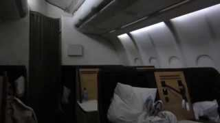Business Class Flat Beds on Swiss Air Flight from New Delhi (DEL) to Zurich (ZRH) Travel Guru TV = The Travel Channel Travel ...