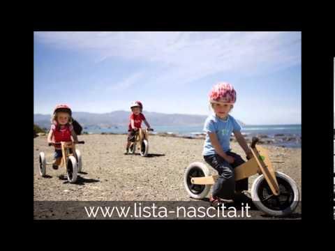 Triciclo design per bimbi - Bicicletta di design per bambini dalla Nuova Zelanda by LISTA NASCITA