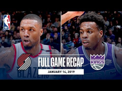 Video: Full Game Recap: Trail Blazers vs Kings | Buddy Hield Leads The Way With Efficient Night
