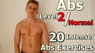 ABS Level 2 / Normal / 20 Intense Abs Exercises