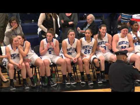 Women's Basketball: Bentley crowned NE10 champs