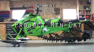 10. SnoWest Project MTN Cat – 2018 Arctic Cat M8000 Mountain Cat Build