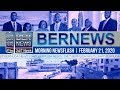 Bermuda Newsflash For Friday, February 21, 2020