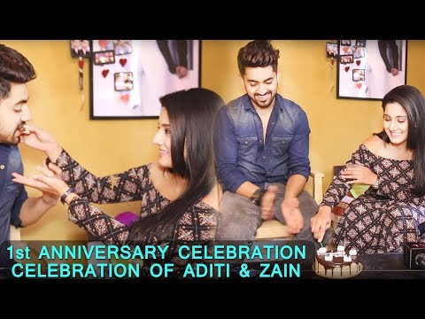 Naamkarann: Zain Imam & Aditi Rathore Complete One Year Of Their Association  | AdiZa / AvNeil