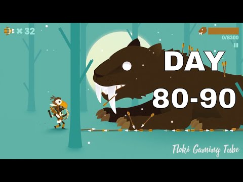 Big Hunter The Smilodon Story Day 80-90 : Most Fun Games 2018 ( Android & ios )