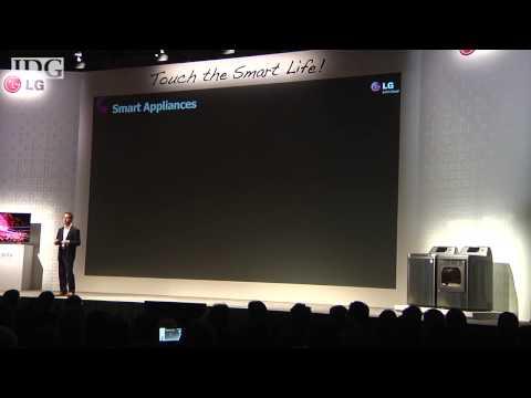 LG Electronics intros smartphone controllable appliances