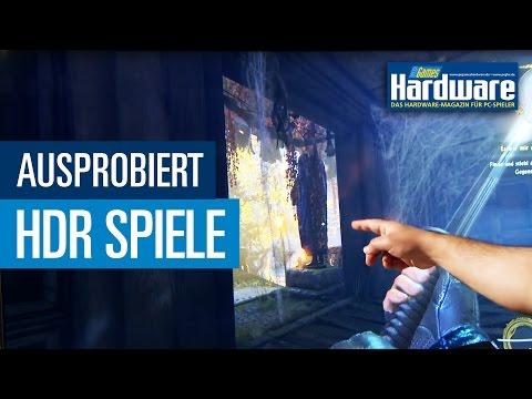 PC Games mit HDR ausprobiert - Resident Evil 7, Shadow Warrior 2 und Hitman