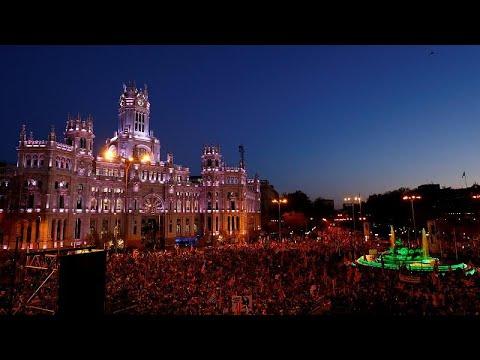 Ισπανία: Διαδηλώσεις στη Μαδρίτη για την ανεξαρτησία της Καταλονίας…
