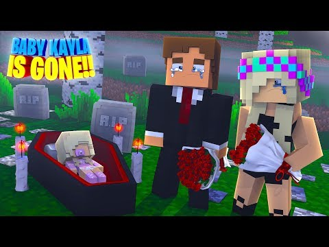 OUR BABY DAUGHTER IS GONE?? Minecraft - Little Donny Adventures