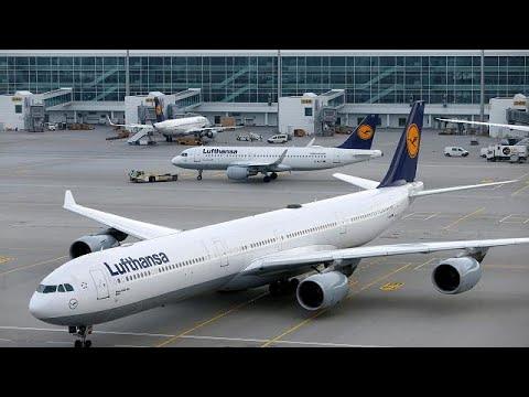 Streiks in Deutschland: Allein Lufthansa streicht 8 ...
