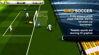 King Soccer YouTube video