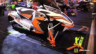 8. 2016 Arctic Cat ZR LXR 6000 129 Sled - Walkaround - 2015 Toronto Snowmobile & ATV Show