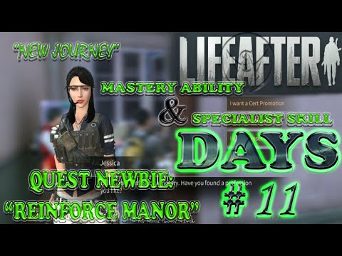 LifeAfter (Days #11 Reinforce Manor, Master Ability + Specialists Skill)