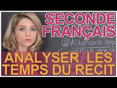 Analyser les temps du récit - Français - Seconde - Les Bons Profs