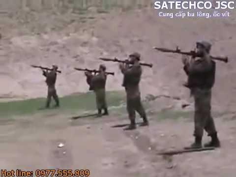 Anh lính tập bắn và cái kết hết hồn