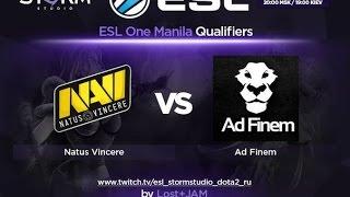 Na'Vi vs Ad Finem, game 1