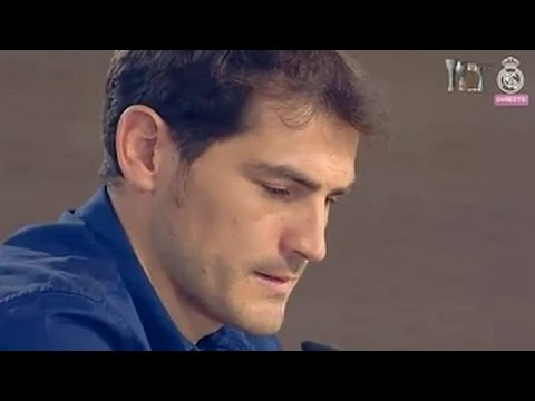 Iker Casillas   Emotional Farewell Speech   THANK YOU LEGEND 2015