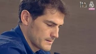 Iker Casillas   Emotional Farewell Speech   THANK YOU LEGEND 2015