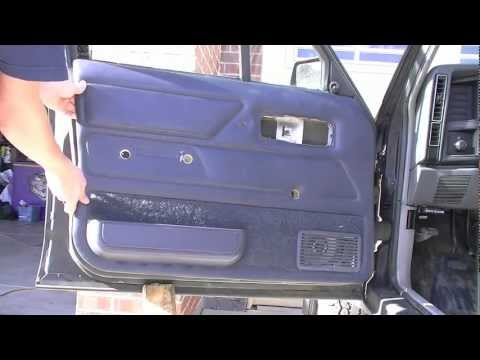 how to remove evo x door handle