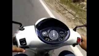 5. Scooter Piaggio fly 50cc 4t new 2013  review