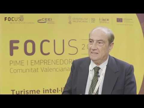 Jesús Casanova en Focus Pyme y Emprendimiento Comunitat Valenciana 2018