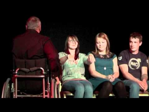 the Hypnotist Jon Chase performs 8 rapid hypnosis inductions in less than 8 minutes