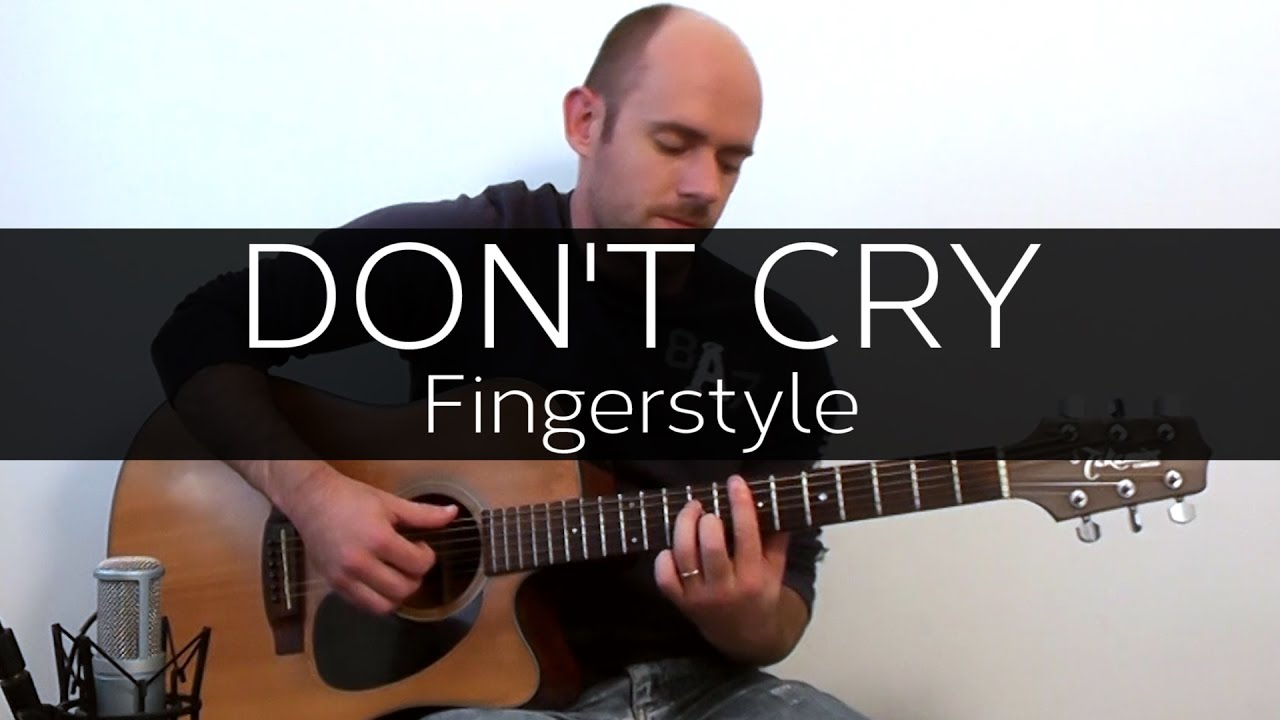 Don't Cry (Guns n' Roses) – Acoustic Guitar Solo Cover Fingerstyle