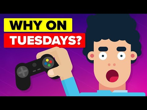 Why Do Video Games Come Out on Tuesdays? (видео)