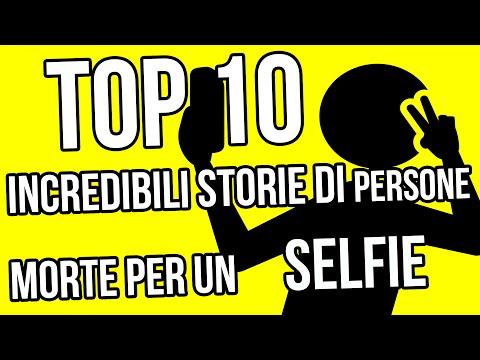 top 10 incredibili storie di persone morte per un selfie