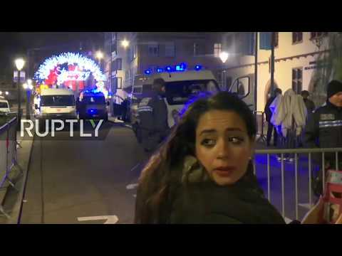 LIVE: Breaking - Shooting In Strasbourg