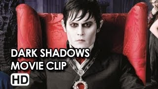 Johnny Depp in 'Welcome Home Barnabas Collins' Movie Clip From 'Dark Shadows'