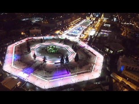 موسكو تفتتح أضخم منصة للتزلج في أوروبا