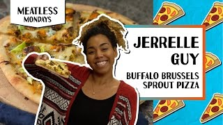 Buffalo Brussels Sprout Pizza l Meatless Monday-Jerrelle Guy by Tastemade