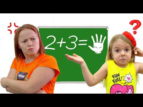 Anabella nu invata la scoala Istorioara amuzanta pentru copii