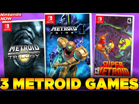 Are We Getting THREE New Metroid Games On Switch?! Crazy New Rumor! - Nintendo NOW!