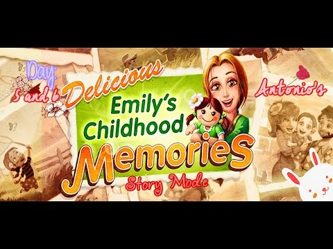 Delicious: Emily's Childhood Memories [Gameplay] (Days 5 And 6) - Antonio's Restaurant