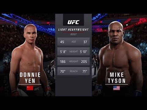 Donnie Yen (IP Man) Vs Mike Tyson EA Sports UFC 2