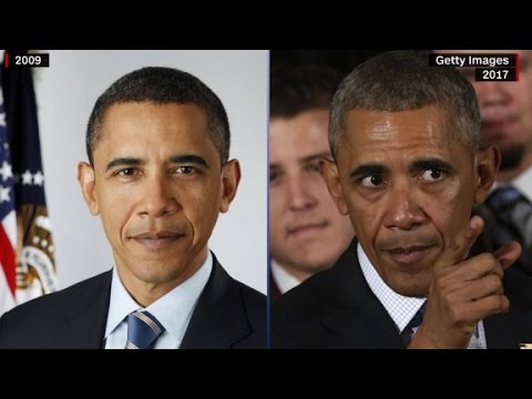 Before and after photos of presidents (видео)