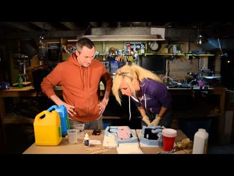 props - Bill and Jessica teach you how to cast a plastic resin space gun! Jessica's Info: http://www.twitter.com/ojessicanigri http://www.facebook.com/officialjessic...